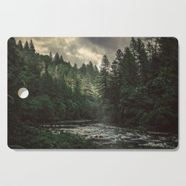 Pacific Northwest River - Nature Photography Cutting Board