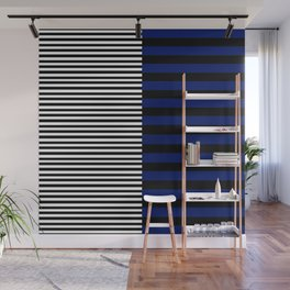 Different Sides (Blue) Wall Mural