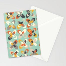 Retro seasons 03, Spring vibes Stationery Cards