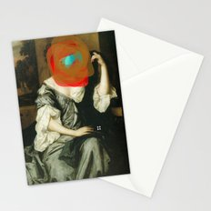 Masked Woman Stationery Cards