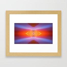 Mind's Eye Diamond Framed Art Print