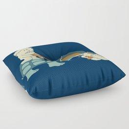No More Licks Floor Pillow