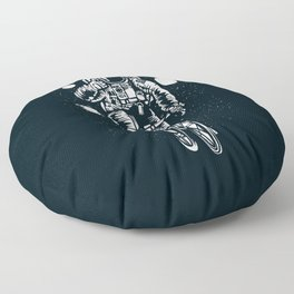 Crazy Astronaut Floor Pillow