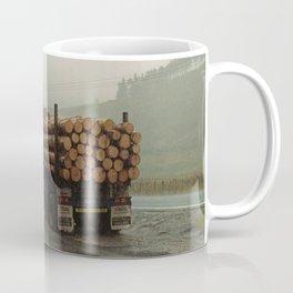 Loggers in the Rain Coffee Mug
