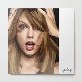 TSwift fan Metal Print