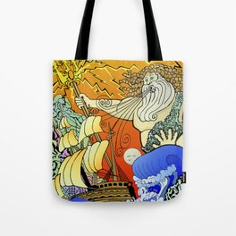 Tales of the Trident:Poseidon Tote Bag
