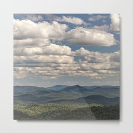from peaked mountain Metal Print