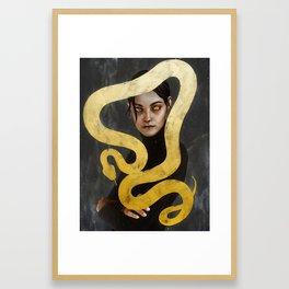 """Su verdadero nombre es Isabel.""  Framed Art Print"