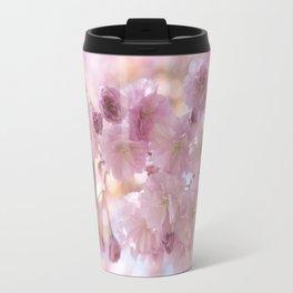 Pink Spring Cherry Blossom Travel Mug