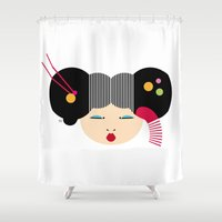 japanese Shower Curtains featuring Japanese by Shu | Formanuova