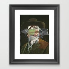Leave me no choice but to plot my revenge  Framed Art Print