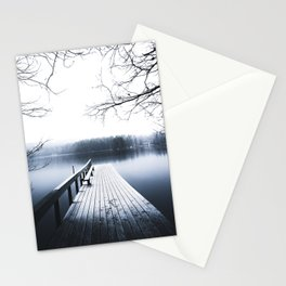 dawn to dusk Stationery Cards