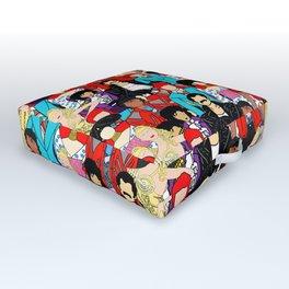 Retro Party 1 Outdoor Floor Cushion