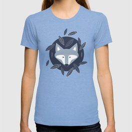 Blue Fox at Forest T-shirt