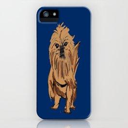 griffon dog iPhone Case