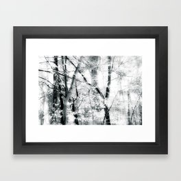 tree breeze Framed Art Print