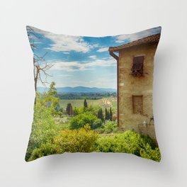 San Gimignano, Tuscany, Italy Throw Pillow