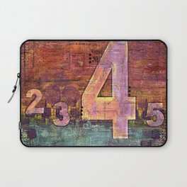 Journey by Number: 4 Laptop Sleeve