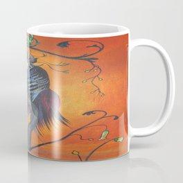 Gamaun The Prophetic Bird With Ruffled Feathers Coffee Mug