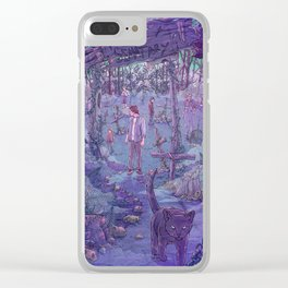 Pet Sematary Clear iPhone Case