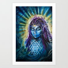 Spirit Realms Art Print