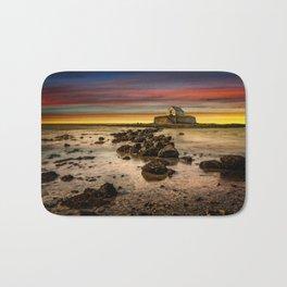 St Cwyfan Sunset Bath Mat