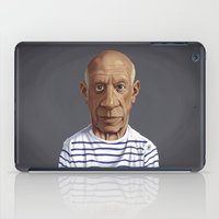 pablo picasso iPad Cases featuring Celebrity Sunday ~ Pablo Picasso by rob art | illustration