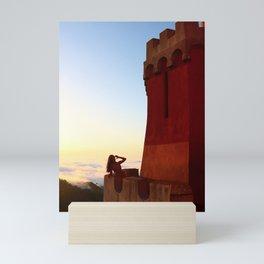 Portuguese Princess in Sunset Mini Art Print