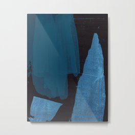 Dark Abstract Metal Print