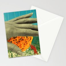 wake up and smell the flowers Stationery Cards