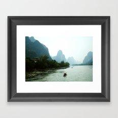 Li River  Framed Art Print