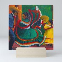Baile Folklorico Mini Art Print