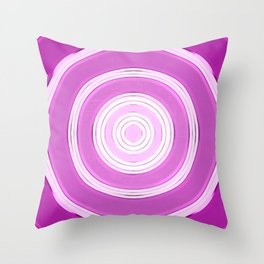 shining purple Throw Pillow