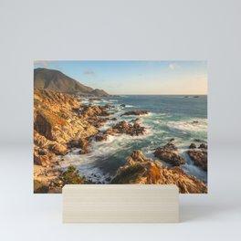 Golden Coast Mini Art Print