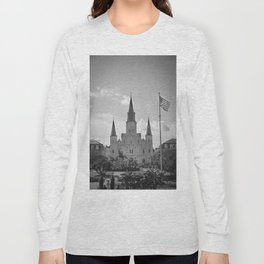 St. Louis Cathedral - Jackson Square, New Orleans Long Sleeve T-shirt