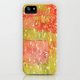 Wonderworld iPhone Case