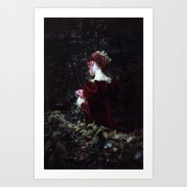 Hiding Away Art Print