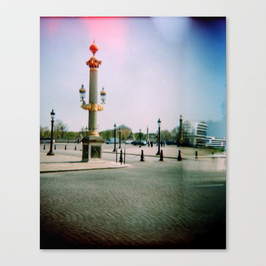 Place de la Concorde, Paris Canvas Print