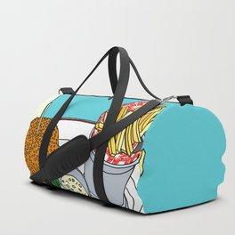 Burger, Chips and Lemonade Duffle Bag
