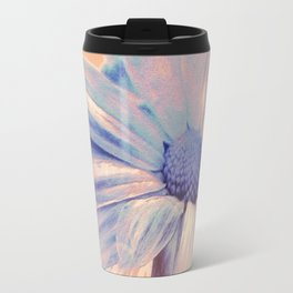 Floral Abstract Travel Mug
