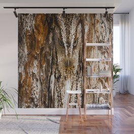 CAMOUFLAGE OWL Wall Mural