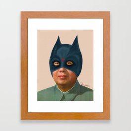 Bad Mao Framed Art Print