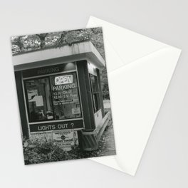 Parking Booth Stationery Cards
