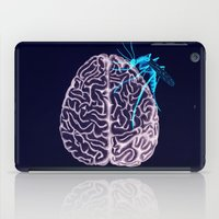 brain iPad Cases featuring Brain by Emilie Ringlet