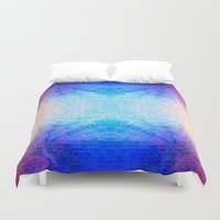 mirror Duvet Covers featuring Mirror by Vargamari