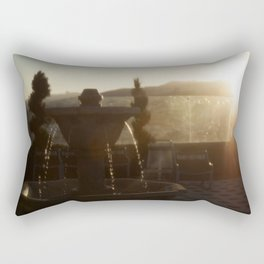 Golden Tears Rectangular Pillow