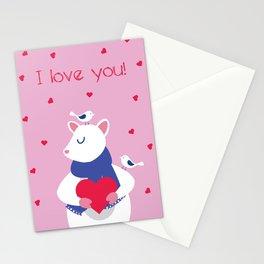 Valentine's Day Love Stationery Cards