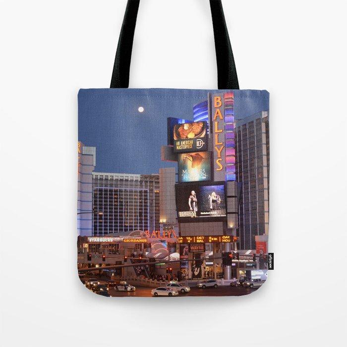 Las Vegas moon Tote Bag