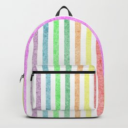 Rainbow lines with effect Backpack