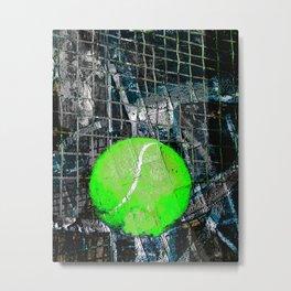 Tennis print works vs 5 Metal Print